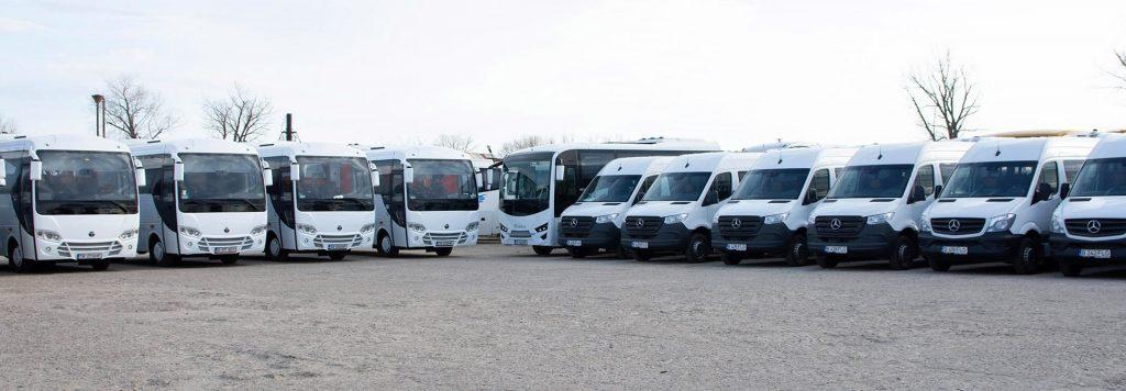 Închirieri microbuze și autocare direct din flota Transcar